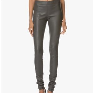 NWT Joseph Leather Leggings